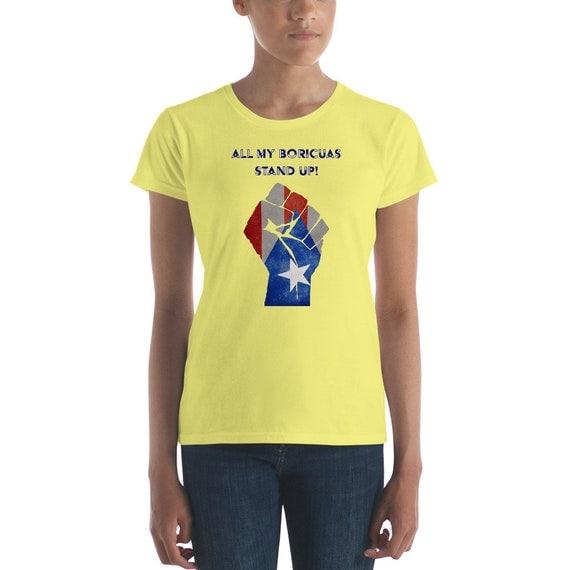 PR Stand Up Women's short sleeve t-shirt