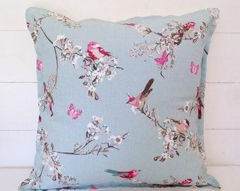 "Beautiful Birds Cushion Cover 16"" 18"" 20"""