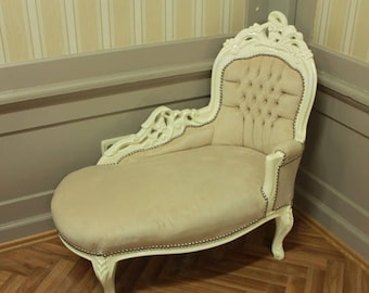 Baroque Recamiere chaise longue antique style AlSo0316WeWe