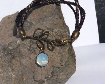 Imitation leather Bracelet