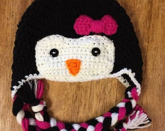 Crochet Penguin hat