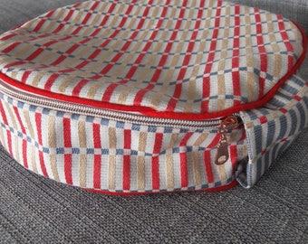 """11"""" Circular Sewing Case - Multi"""