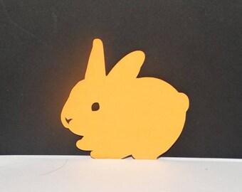 Lying Bunny cutout