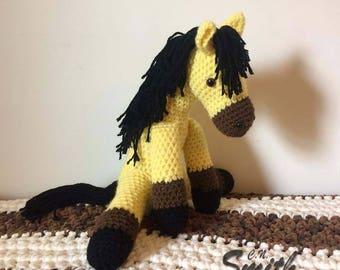 Crochet Amigurumi Pattern PDF File- Reneigh the Horse