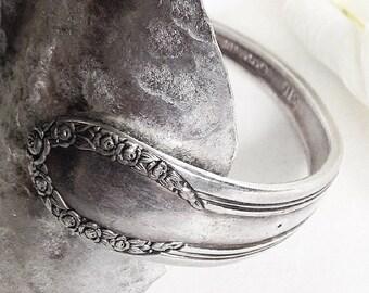 Spoon  Cuff Bracelet, Antique  Silver Spoon Bracelet, Silverware Cuff Bracelet, Antique Silverware  Jewelry, Vintage Silverware  Bracelet