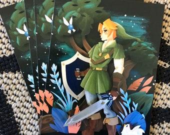 Legend of Zelda (5x7) Prints