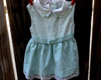 2T - Sweet Vintage Summer Dress with lace
