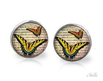 Earrings Butterfly 18