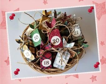 Advent Calendar filled-fine chocolate