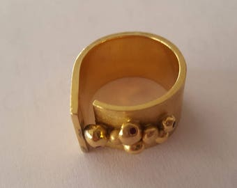 RESERVED - Original Gold and ruby ring