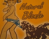 Coppertone Tan Shirt. Vintage T-shirt. Graphic Tee. Top. Retro Yellow Gold. Classic Graphic. Beach. Surf. Resort. Spring Break. Summer Wear.