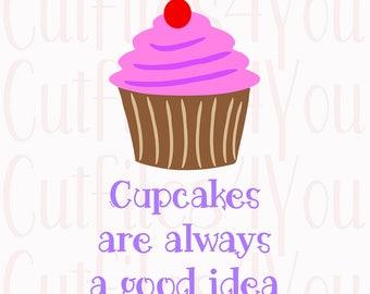 Cupcake svg, Cupcake Art, Cupcake cut file, cute cupcake, Kitchen Art file, love cupcake, Bakery Art work, Apron design, yummy cupcake svg,
