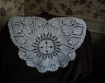 Butterfly DOILY for Chair or sofa, white or color choice