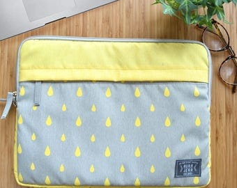 "13"",15"" yellow laptop sleeve, macbook sleeve, macbook pro 13"" sleeve case, apple12"" macbook sleeve case,macbook pro 15"" sleeve case"