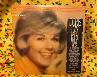 Doris Day vinyl record. Songs from her movies!