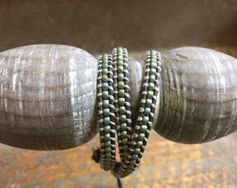 Kesha Beaded Wrap Bracelet