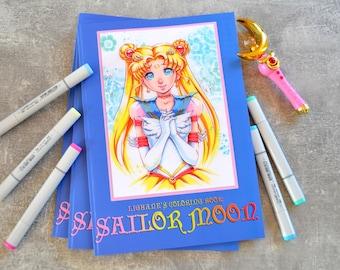 Lighane's Sailor Moon Coloring Book