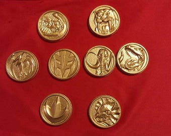 Mighty Morphin Power Rangers coin Set