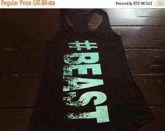 15%off this week only beast workout tank top. Womens tank top. tank top