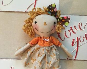 Primitive Raggedy Ann Doll FAAP