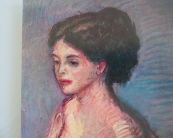 Isidre Nonell Modern Lady Artwork Vintage Post Card