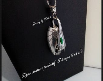 Creative jewelry pendant. Titanyos the winged king