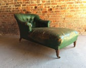 Antique Howard  Sons Style Napolean III Chaise Longue Victorian For Restoration
