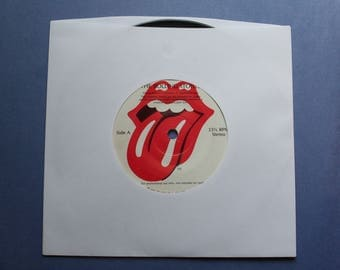 The Rolling Stones 1983 Interview record 33-1/3 rpm for promotional use only not for resale.