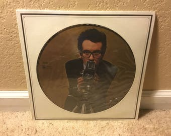 Sealed Elvis Costello My AIM Is True/This Years Model Picture Disc Promo