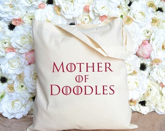 Goldendoodle Tote - Labradoodle Tote - Mother of Doodles Tote - Doodle Tote