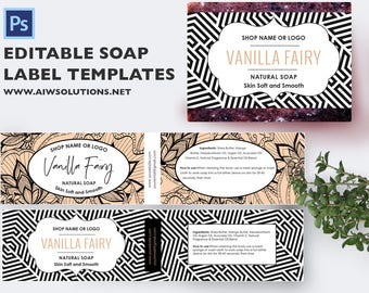 Soap label, Soap Bar label, Natural Soap label, Homemade Soap label, label template,editable template, soap label,Soap Label Printable