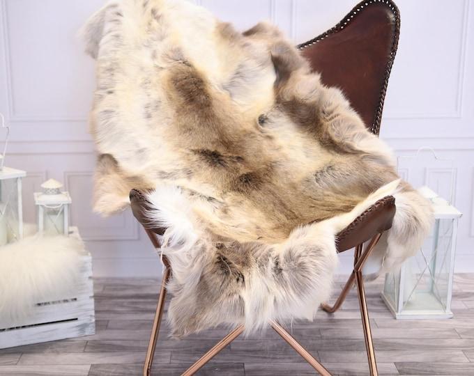 Reindeer Hide | Reindeer Rug | Reindeer Skin | Throw XXL  Large - Scandinavian Style #1RE3