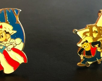 The Walt Disney Company Liberty Square Pin & Frontier Land Little Pete 30th Anniversary Pin