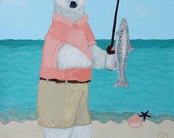 Polar Bear Fishing