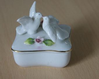 Ceramic Pot with Doves