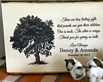 Parent Wedding Gift, Wedding Gift Parents, Parents of the Bride Gift, Wedding Gifts Personalized, Wood Signs, Wedding Gifts, Wedding Signs,