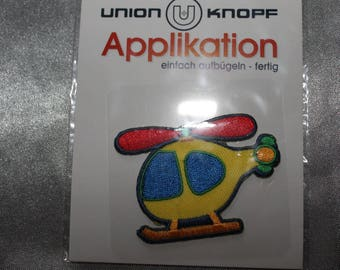 applique, helicopter, craft or sewing for children