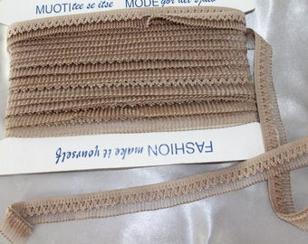 Ribbon, lace, elastic lace, 20 mm wide
