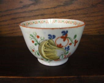 Machin Pattern 208 Shell Pattern Tea Bowl  - Circa 1815