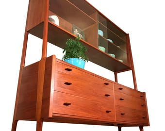 Teak Hutch/Sideboard by Hans Wegner for Ry Møbler (*please see notes on shipping)