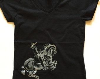 Renaissance Dressage Horse Tshirt