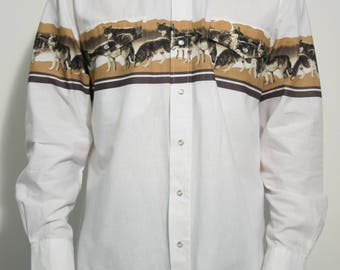 Wolf Western Shirt