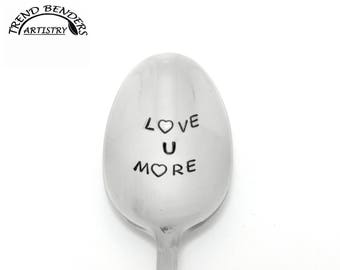 Love U More Valentines Day Gifts For Him For Her For Kids Unique Stamped Birthday Gift For Husband Anniversary Gift For Boyfriend