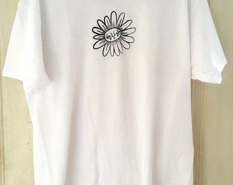 Flower lady shirt