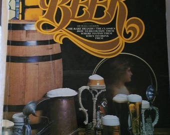Vintage Book The World Guide to Beer Cool Rare Books