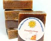 Pumpkin Soap - Handmade S...