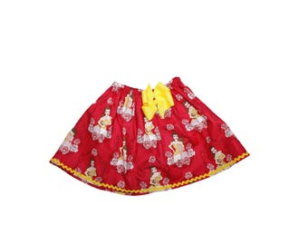 Girl Belle skirt  school girl skirt, Girl Skirt, Girl birthday skit, baby Skirt , Toddle skirt, Skirts