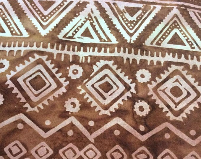 Celestial Copper Aztec Batik