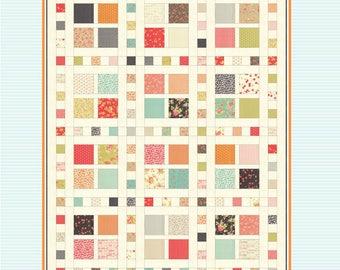 Square Dance Quilt Pattern #709 by GiGi's Thimble