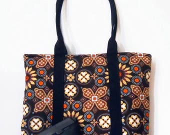 Sale! Concealed Carry Tote Purse With Vera Bradley Fabric 8 Patterns To Choose